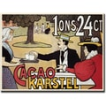 Trademark Global in.Cacao Karstelin. Canvas Art, 18in. x 24in.