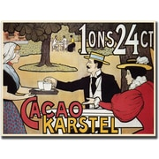 "Trademark Global ""Cacao Karstel"" Canvas Art, 18"" x 24"""