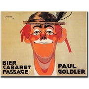 "Trademark Global J. Steiner ""Bier Cabaret Passage Paul Golder"" Canvas Art, 24"" x 32"""