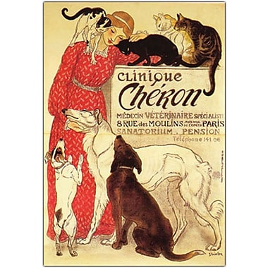Trademark Global in.Clinique Cheronin. Canvas Art, 18in. x 24in.