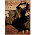 Trademark Global in.Buttericks Moden Revuein. Framed Canvas, 18in. x 24in.