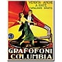 Trademark Global Grafafoni Columbia Canvas Art, 18 x