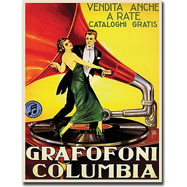 Trademark Global in.Grafafoni Columbiain. Canvas Art, 18in. x 24in.