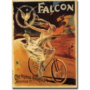 "Trademark Global Pal ""Falcon"" Framed Canvas Art, 18"" x 24"""