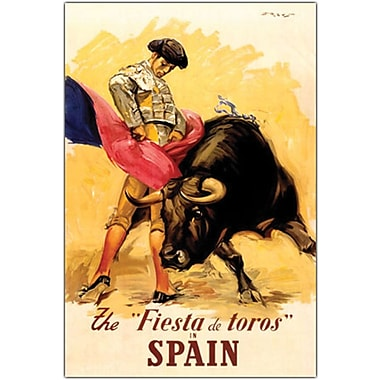 Trademark Global in.The Fiesta de Toros Spainin. Canvas Art, 35in. x 47in.