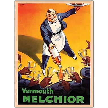 Trademark Global Dorfi in.Vermouth Melchioin. Gallery Wrapped Canvas Art, 24in. x 32in.