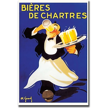 Trademark Global in.Bieres de Chartresin. Gallery Wrapped Canvas Art, 18in. x 24in.
