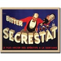 Trademark Global Robert Wolfe in.Bitter Secrestatin. Framed Canvas Art, 35in. x 47in.