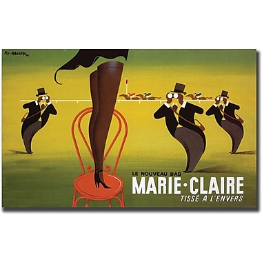 Trademark Global Pierre Fix in.Le Nouveau Bas Marie-Clairein. Canvas Art, 35in. x 47in.
