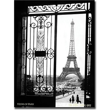 Trademark Global in.Views of Parisin. Canvas Art, 24in. x 32in.