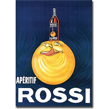 Trademark Global in.Aperitif Rossiin. Gallery Wrapped Canvas Art, 24in. x 32in.