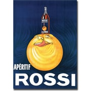 "Trademark Global ""Aperitif Rossi"" Gallery Wrapped Canvas Art, 24"" x 32"""