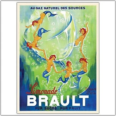 Trademark Global in.Phillipe H. Noyer Limonade Braultin. Giclee on Canvas Art, 24in. x 32in.