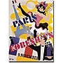 Trademark Global Paris Kobenhavs Canvas Art, 18 x
