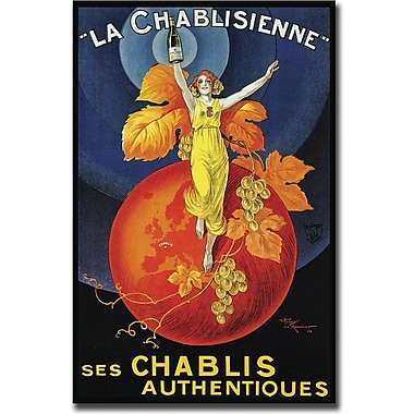 Trademark Global in.La Chablisiennein. Gallery Wrapped Giclee on Canvas Art, 18in. x 24in.