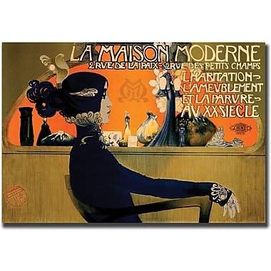 Trademark Global in.La Maison Modernein. Giclee on Canvas Art, 35in. x 47in.