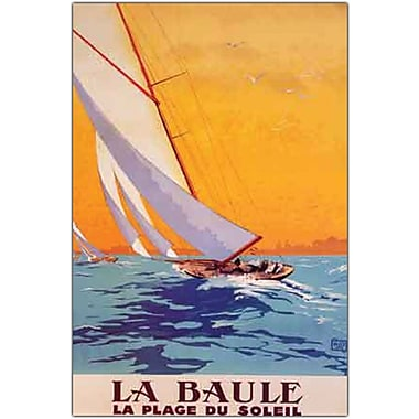 Trademark Global Charles Allo in.La Baule Framein. Canvas Art, 32in. x 47in.