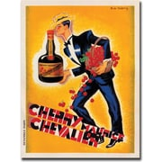 "Trademark Global ""Cherry Maurice Chevalier"" Canvas Art, 24"" x 32"""