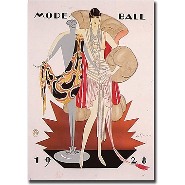 Trademark Global in.Mode Ball 1928in. Giclee on Canvas Art, 18in. x 24in.