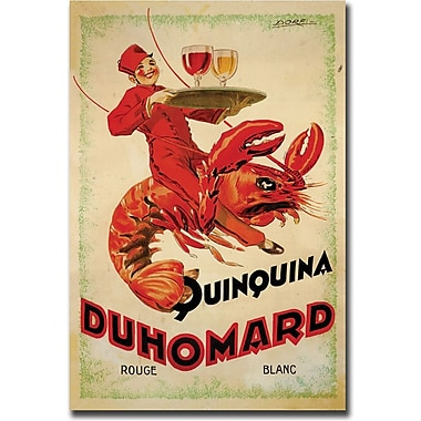 Trademark Global in.Quinquina Duhomardin. Canvas Art, 18in. x 24in.