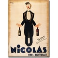 Trademark Global in.Nicolas Fines Bouteillesin. Canvas Art, 18in. x 24in.