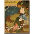 Trademark Global in.Paris Almanachein. Canvas Art, 35in. x 47in.