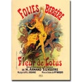 Trademark Global Jules Cheret in.Folies Bergere Fleur de Lotusin. Canvas Art, 24in. x 32in.