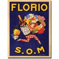 Trademark Global Marcello Dudovich in.Florio S.O.Min. Canvas Art, 35in. x 47in.