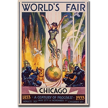 Trademark Global in.World's Fair Chicagoin. Canvas Art, 35in. x 47in.