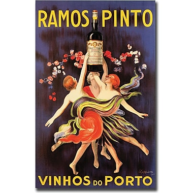 Trademark Global in.Ramos Pinto Vinhos do Portoin. Canvas Art, 18in. x 24in.