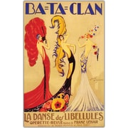 "Trademark Global Jose de Zamora ""Bataclan"" Canvas Art, 24"" x 32"""