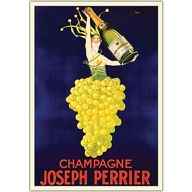 Trademark Global in.Champagne Joseph Perrierin. Canvas Art, 18in. x 24in.