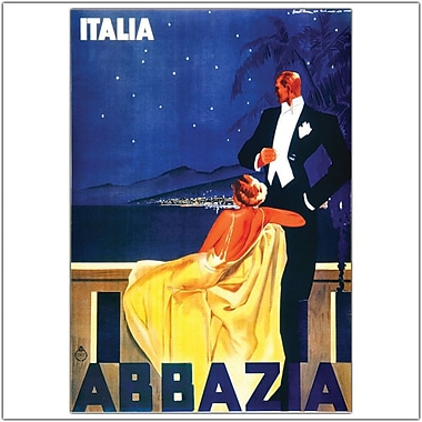Trademark Global in.Italia Abbaziain. Canvas Art, 18in. x 24in.