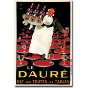 "Trademark Global ""Le Daure"" Canvas Art, 35"" x 47"""