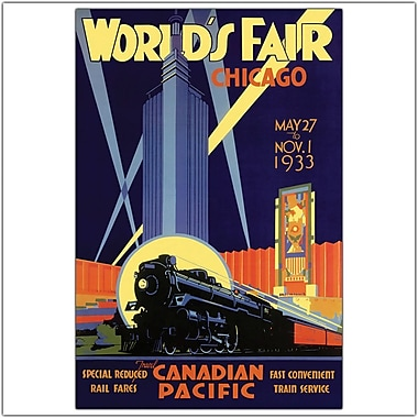 Trademark Global in.Chicago World's Fairin. Canvas Art, 24in. x 32in.