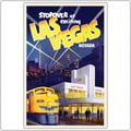 Trademark Global in.Las Vegasin. Canvas Art, 24in. x 32in.