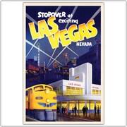 "Trademark Global ""Las Vegas"" Canvas Art, 24"" x 32"""