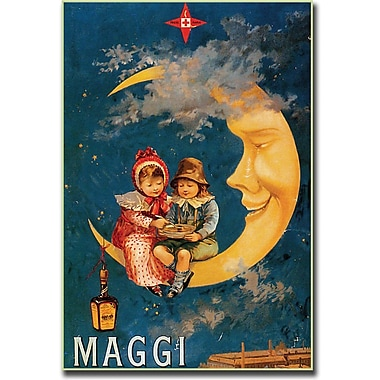 Trademark Global in.Maggiin. Canvas Art, 24in. x 32in.