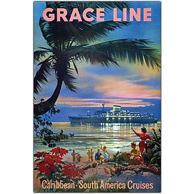 Trademark Global in.Gracelinein. Canvas Art, 32in. x 47in.