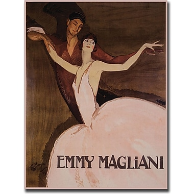 Trademark Global Emmy Rossan in.Emmy Maglianiin. Canvas Art, 35in. x 47in.