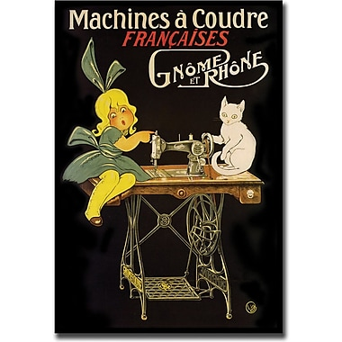 Trademark Global in.Machines a Coudrein. Canvas Art, 24in. x 32in.