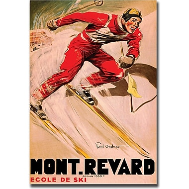 Trademark Global in.Mont Revardin. Canvas Art, 35in. x 47in.