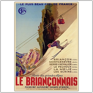 Trademark Global in.Le Brianconnaisin. Canvas Art, 35in. x 47in.