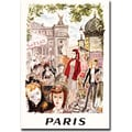 Trademark Global in.Parisin. Canvas Art, 18in. x 24in.