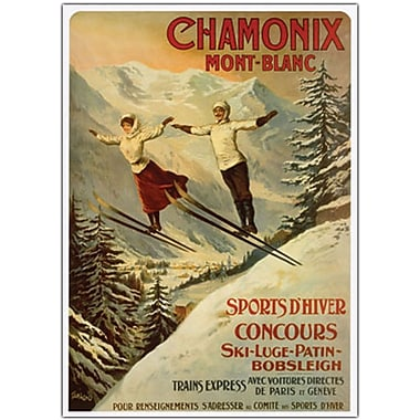 Trademark Global in.Chamonix Mont Blancin. Canvas Art, 24in. x 32in.