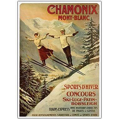 Trademark Global in.Chamonix Mont Blancin. Canvas Art, 24in. x 32in.