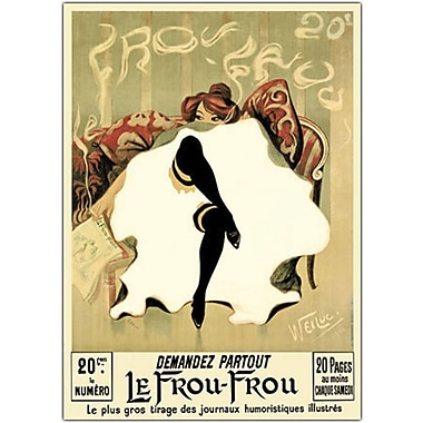 Trademark Global Lucien Henri Weiluc in.Le Frou Frouin. Canvas Art, 35in. x 47in.