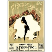 Trademark Global Lucien Henri Weiluc Le Frou Frou Canvas Art, 35 x 47
