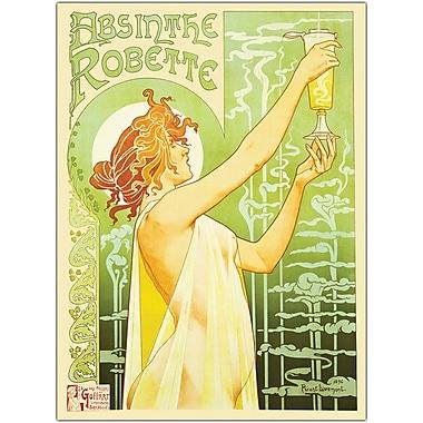 Trademark Global in.Absinthe Robettein. Canvas Art, 18in. x 24in.