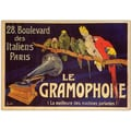 Trademark Global in.La Gramaphonein. Canvas Art, 24in. x 32in.